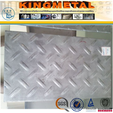 A36 Ss400 Hot Rolled Mild Steel Chequered Plate 6mm/10mm Thick