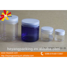 pure PET material cosmetic bottles and jars