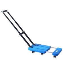 Carro de mano de carga de transporte de plataforma plegable manual