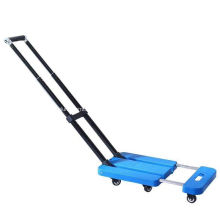 Manual Folding Platform Transport Loading Hand Trolley