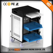 Cabinet de casier de charge de type USB de capacité élevée pour des comprimés / phoncelles de système d'IOS / androïde