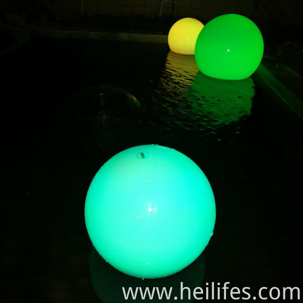 waterproof Ball Lights with Remote Control