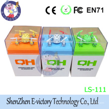 Shenzhen E-victory Product LS-111 2.4GHz 4.5CM Smaller Mini Quadcopter For Sale