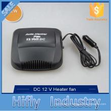 HF-702 Chaude DC12V 150 W En Céramique Auto Chauffe-Voiture Ventilateur Verre Désembueur / Dégivreur Portable Ventilateur Ventilateur (Certificat de la CE)