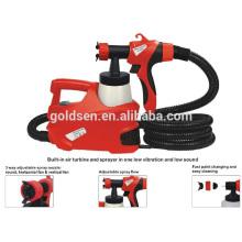 500W HVLP piso basado en spray de pintura eléctrica portátil pistola eléctrica GW8177