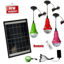venta por mayor alta calidad aprobado CE y patente led iluminación de la casa solar