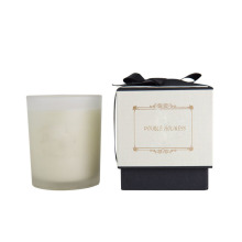 Glass jar private label scented candles
