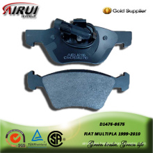 SEMI-METALLIC BRAKE PAD FOR FIAT MULTIPLA 1999-2010