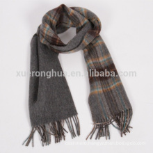 100% wool handmade double faced scarf