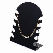 Acrylic Jewelry Displays, Displaying Necklaces, Customized Designs are Welcome