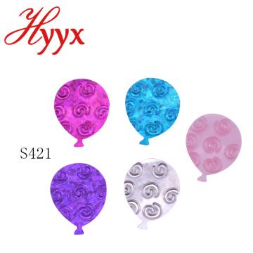 HYYX Large Different Sizes graduation party confeti metal / lentejuelas sueltas