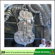Emblema fabricante profissional 3D