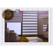 Superior calidad manual cebra persianas y sombras de rodillo sombras de la noche