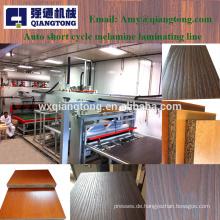 1200Ton beide Seiten Aufkleber Möbel Hitze Presse Maschine