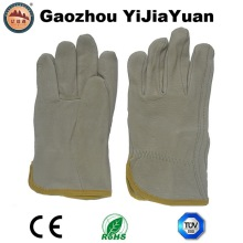 Pig Top Grain Leather Rigger Safety Work Gloves