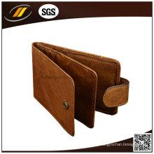 Kundenspezifische Form Visitenkartenhalter aus echtem Leder