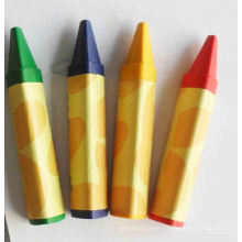 non toxic wax crayon set triangle caryon
