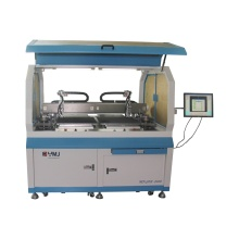 Machine de montage de puce double feuilles
