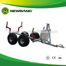 ATV log loader trailer