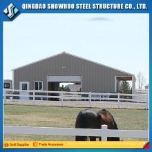 Diseño China Edificios Agrícolas Cubierta de vacas Prefabricated Barn Horse Stable