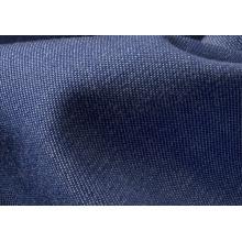 Baumwollstrickstoff Indigo Gestrickte Jeans
