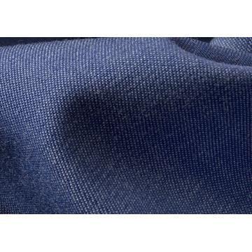 Algodão Malha De Tecido Indigo Malha Denim Jeans