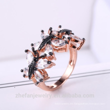 joyería de diseño de anillo de bodas de muestra de día de San Valentín para las mujeres
