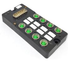 Caja de distribución M8 con conector DB15 prefabricado