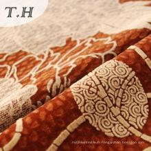 Nouveau tissu de troupeau de conception pour le rideau