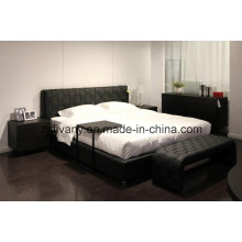 Home Furniture Bedroom Double Bed (A-B41)