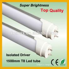 SMD 2835 T8 led tube luminaire