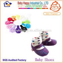 Zapatos de bebé de alta calidad Calcetines y hairband