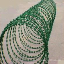 Galvanized Security Concertina Coil Razor Wire (TYE-15)