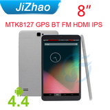 New!!! 2014 8Inch quad core gps fm bt wifi tablet computer