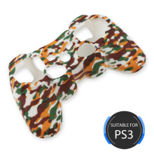 Costume popular para a tampa do silicone do controlador PS3