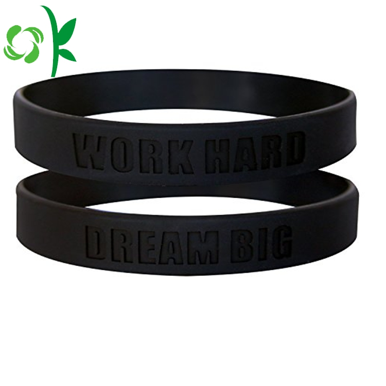 Fashion Wedding Silicone Bracelet