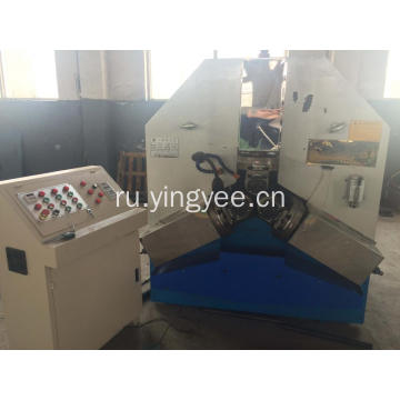 steel pipes thread rolling machine with three shaft