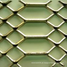 Folha de metal expandida do tipo do furo da diferença