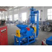 Blue Waste Tyre Recycling Machine Tire Shredding Equipment