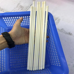 99% Alumina High Polishing Ceramic Rod With Screw