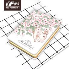 Benutzerdefinierte Tier Wunderland Stil niedlichen Metall Cover Notebook