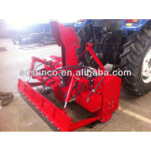 The rear PTO 3-point snow blower on tractor