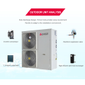 EVI Air Source to Water Split Heat Pump Reviews with Exchanger for Meeting the Need of Swimming Pool and Household Use