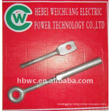 power line accessories, ring bolts and nuts