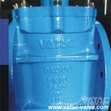 Cast Gear Operated RF Flanged Eccentric Plug Valve