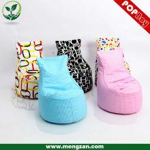 Tissu en coton en gros en tissu de soja Canapé en sac de haricots en différentes couleurs