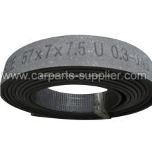 Rouleaux de doublure de frein à fibre libre sans amiante