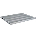 4 Mold Aluminum baguette baking tray