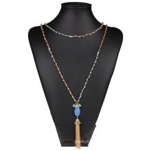 Colgantes de cadena larga último modelo de moda collar