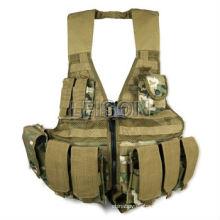 carga rodamiento chaleco chaleco de combate ejército chaleco ISO y el estándar de SGS